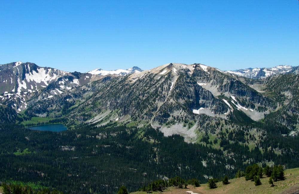Aneroid Lake and Bonneville Peak