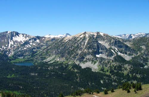 Aneroid Lake and Bonneville Peak