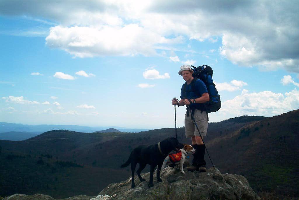 Summit of Tennent Mountain