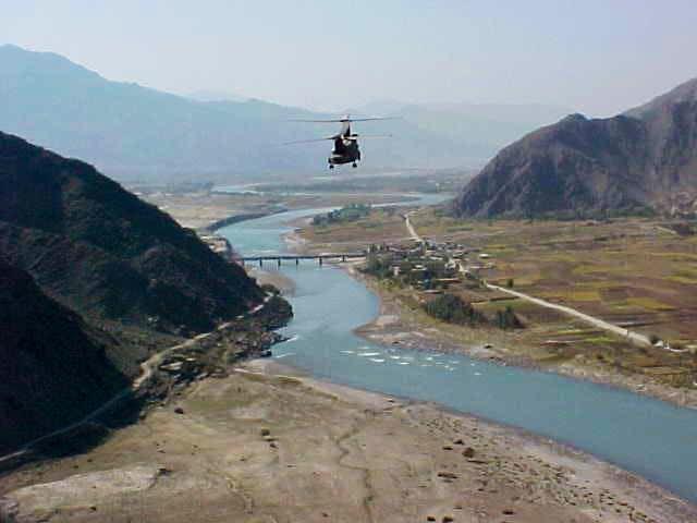 Konar River and Hindu Kush