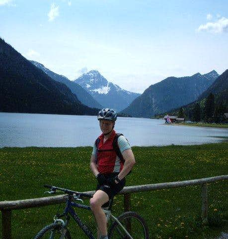 Biking in the Alps