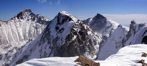 Powell Peak Summit View
