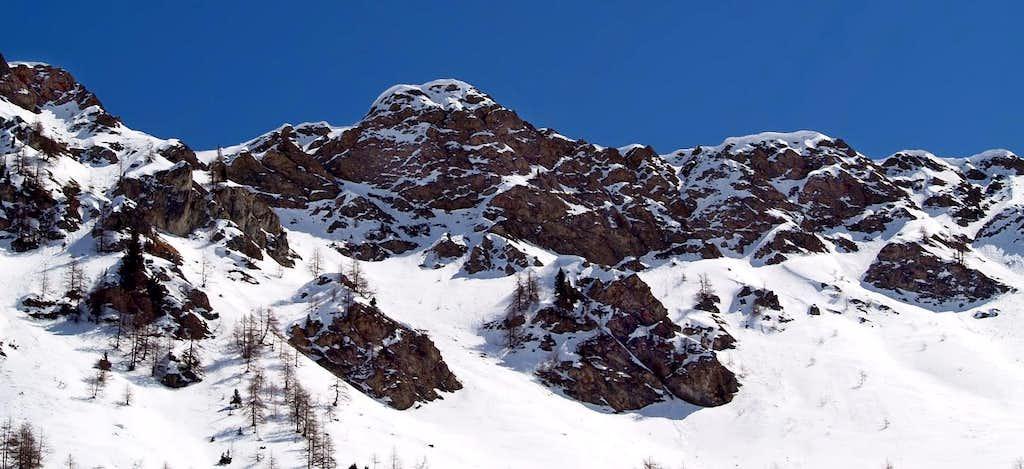 Western side of Cresta Tardiva (2380 m)