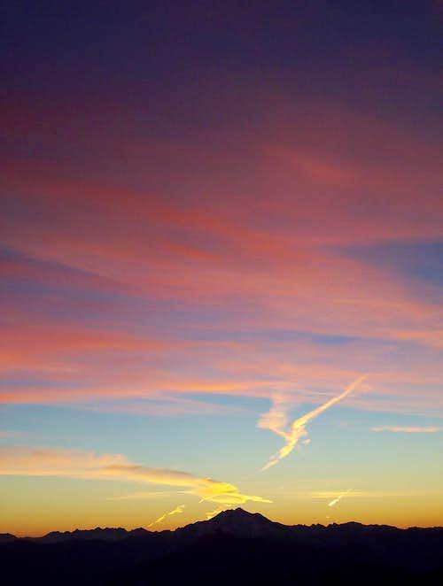 Sunrise Over Glacier Peak