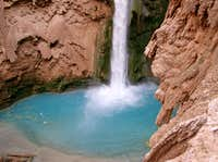 Bottom Part of Mooney Falls