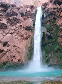 From the Bottom of Mooney Falls