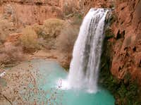 On the Way Back Past Havasu Falls