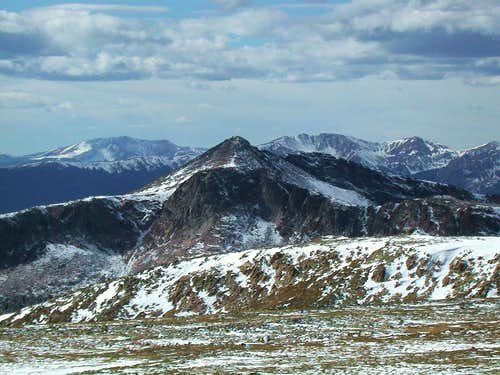 Snowdrift Peak from Otis Peak