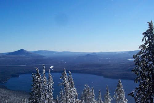 Odell lake and odell butte.