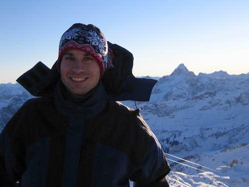 Summit view from Nebelhorn