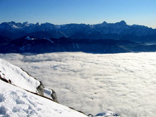 Julian Alps from Dobratsch (2)