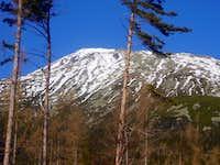 Our today goal, Slavkovsky peak