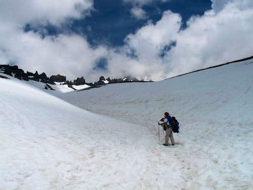 Up Avalanche Gulch