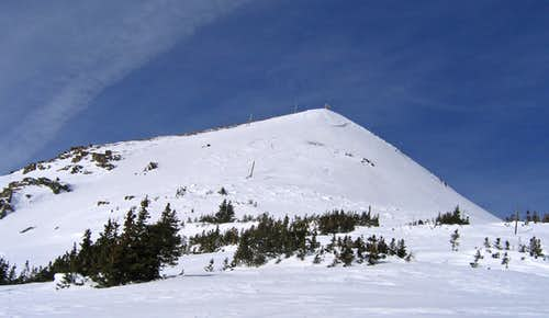 Tucker Mtn east slope