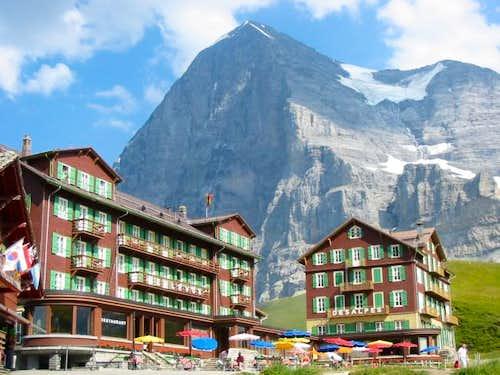 Eiger from Kleine Scheidegg