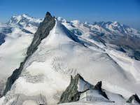 Allalinhorn summitview: Monte...