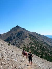 Mt. Aix traverse Aug '06