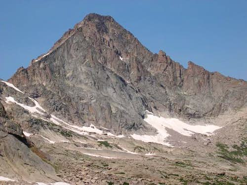 From upper Glacier Gorge,...