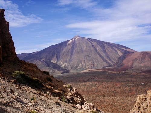 Teide from Guajara