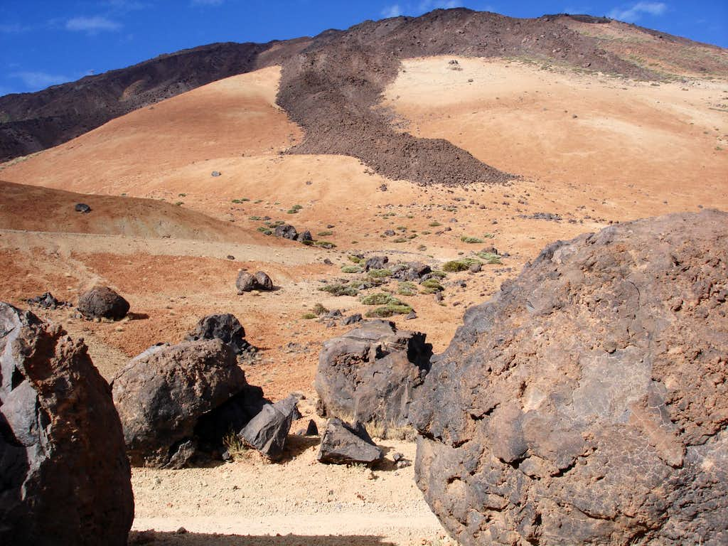 The eggs of Teide