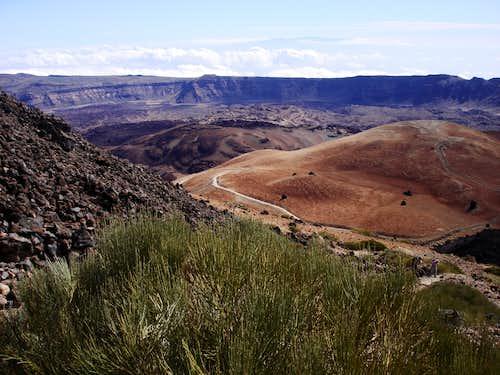 The old caldera