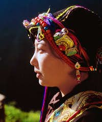 A Tibetan girl-3
