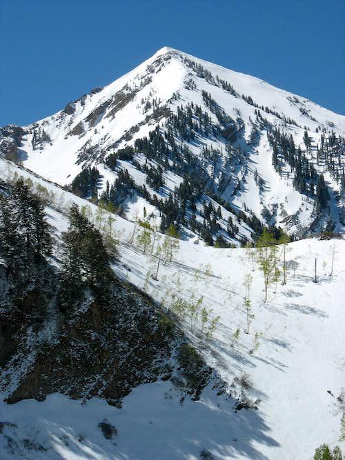 Provo Peak from Dry Creek