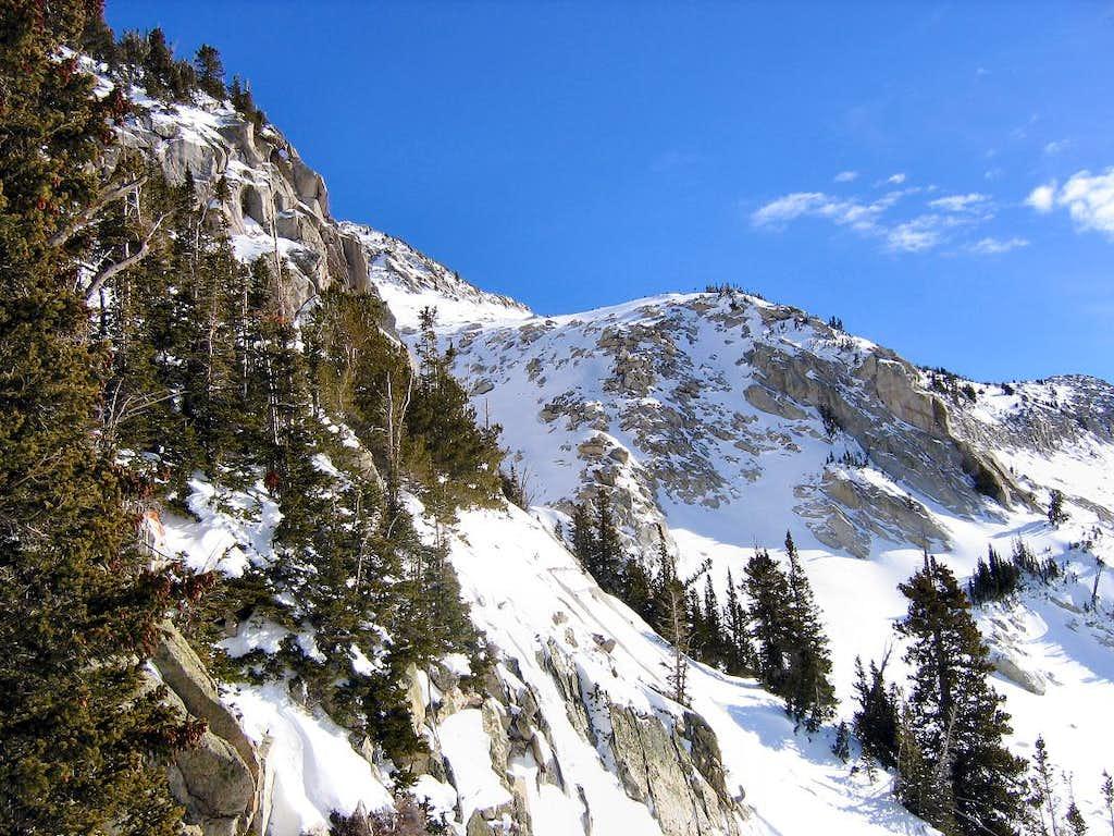 A Glimpse of the Peak