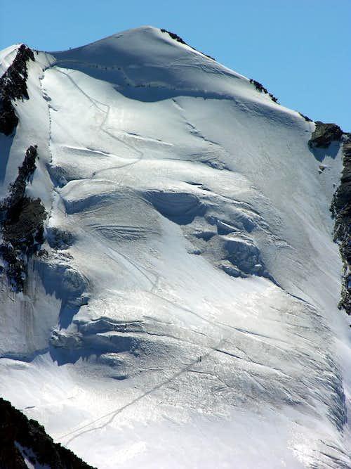 Il Castore (4226 m) 10 agosto 2006