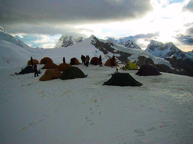 Camp: Crowded High Camp - no...