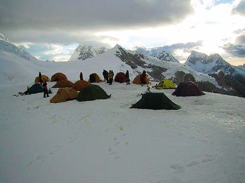 Camp: Crowded High Camp - no...