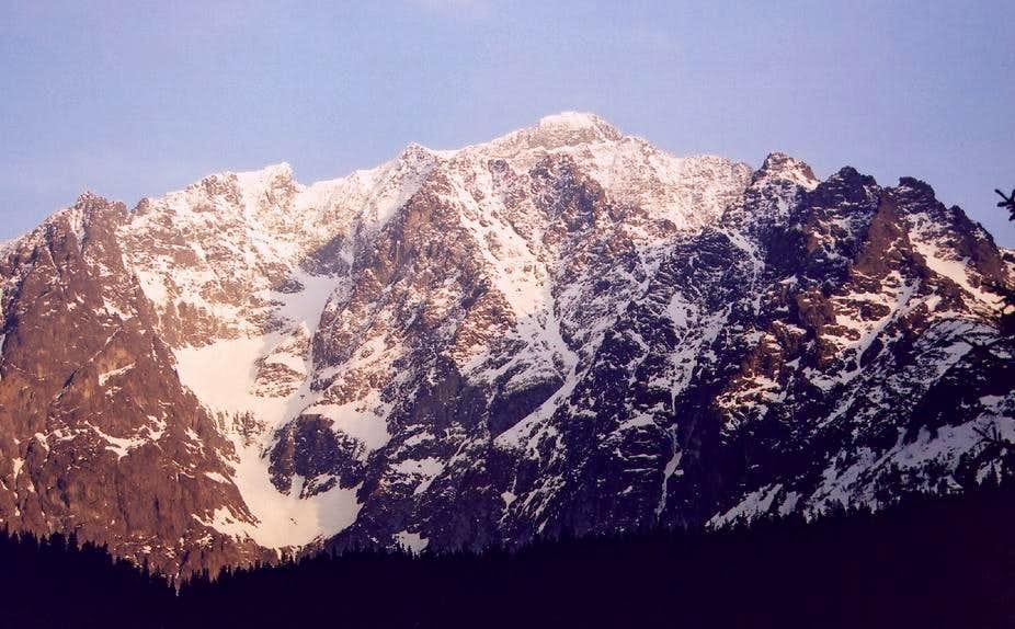Ladovy above Javorova Valley