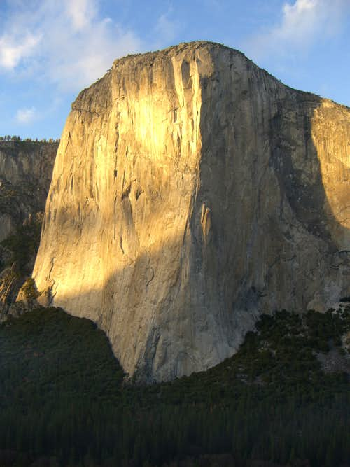 El Capitan from Central Pillar of Frenzy