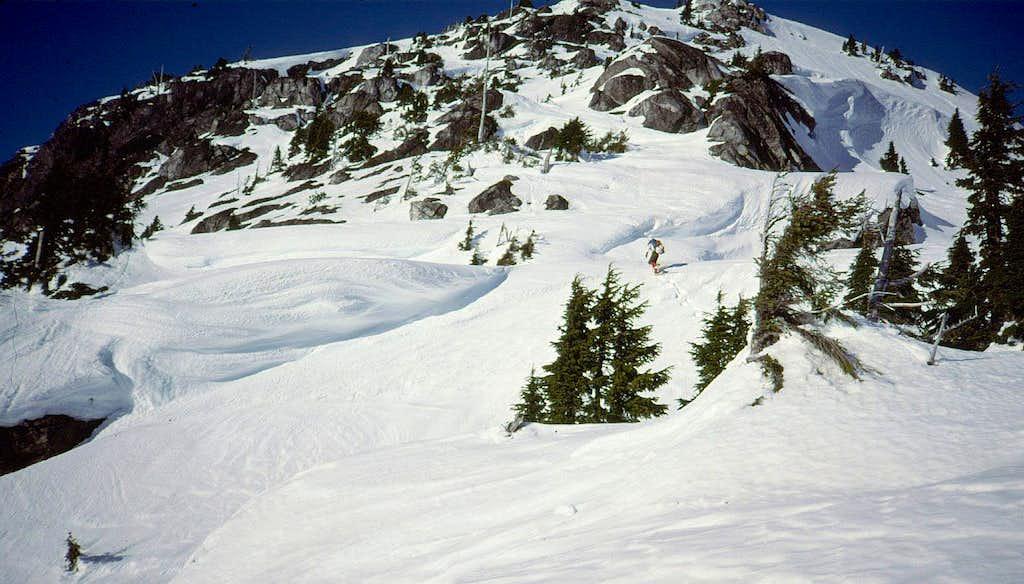 S Slope, Davis Peak
