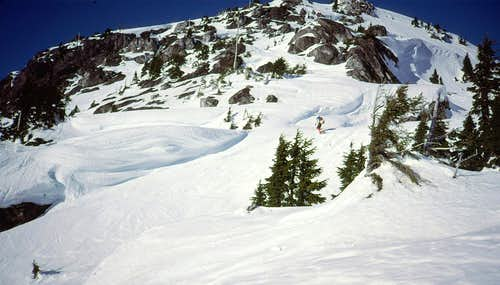 S Slope, Davis Peak