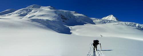Panoramic view: Ski-Ascent Wildspitze
