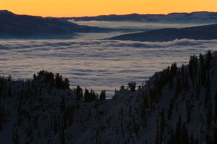 Mount Millicent sunrise