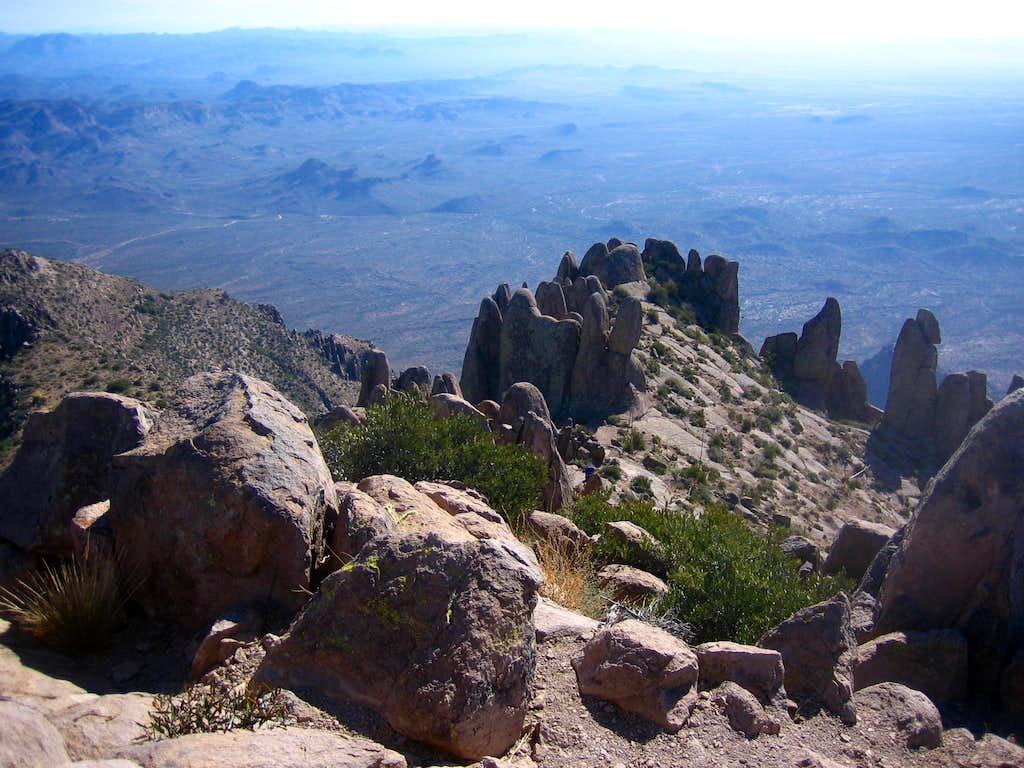 Summit Fins-Superstition Peak