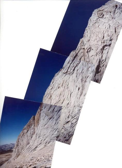 The LONG W. Ridge of Mt....