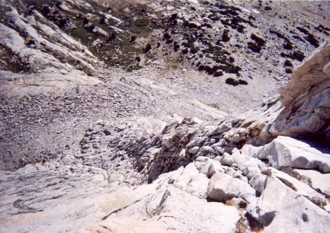 Mt. Conness' W. Ridge, as...