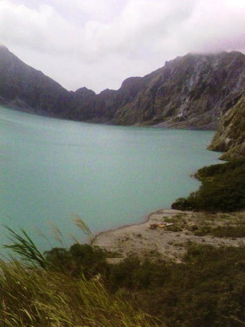 Mt. Pinatubo caldera