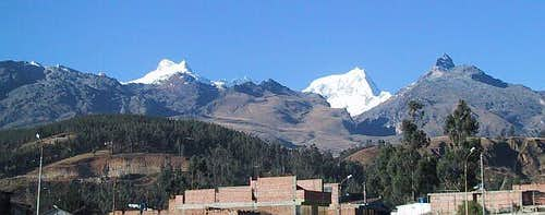 View from Huaraz