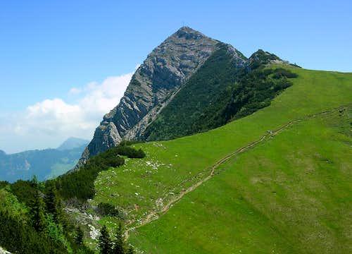 Aiplspitz SW-ridge ...
