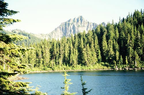 Terrace Mountain from Fisher Lake