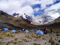 Base Camp Alpamayo-Valley