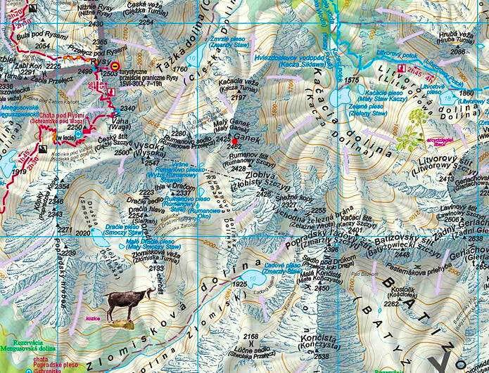 Tooltip for IE: Ganek map