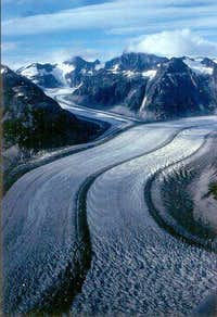 Juneau Icefields Glacier