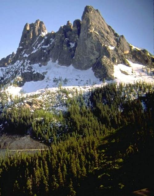 Liberty Bell Mountain from...