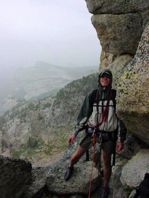 The rainy end to our climb of...