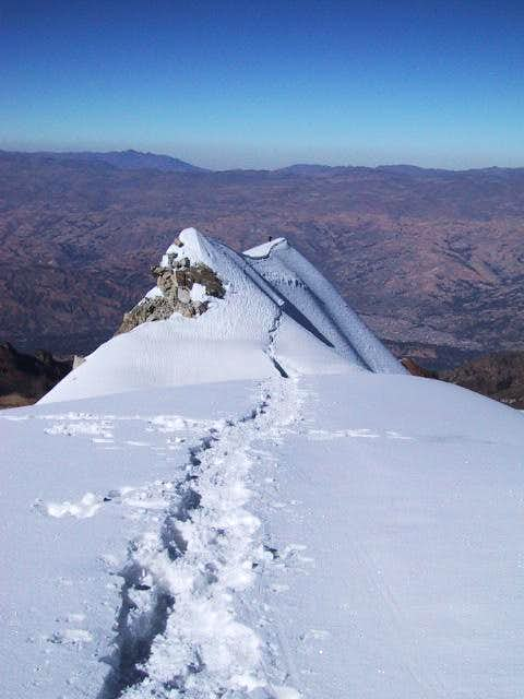 A ridge on the way